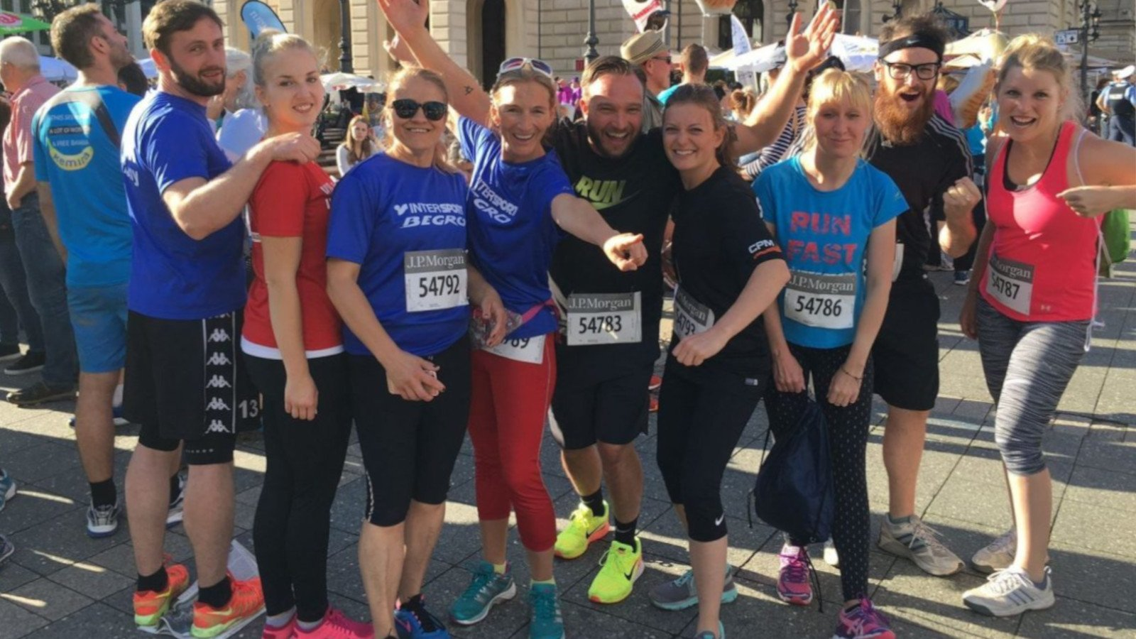 J.P. Morgan Corporate Challenge – Frankfurt