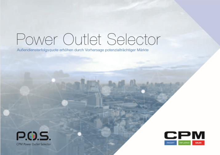 CPM Services: Außendienstoptimierung mit CPMs Power Outlet Selector